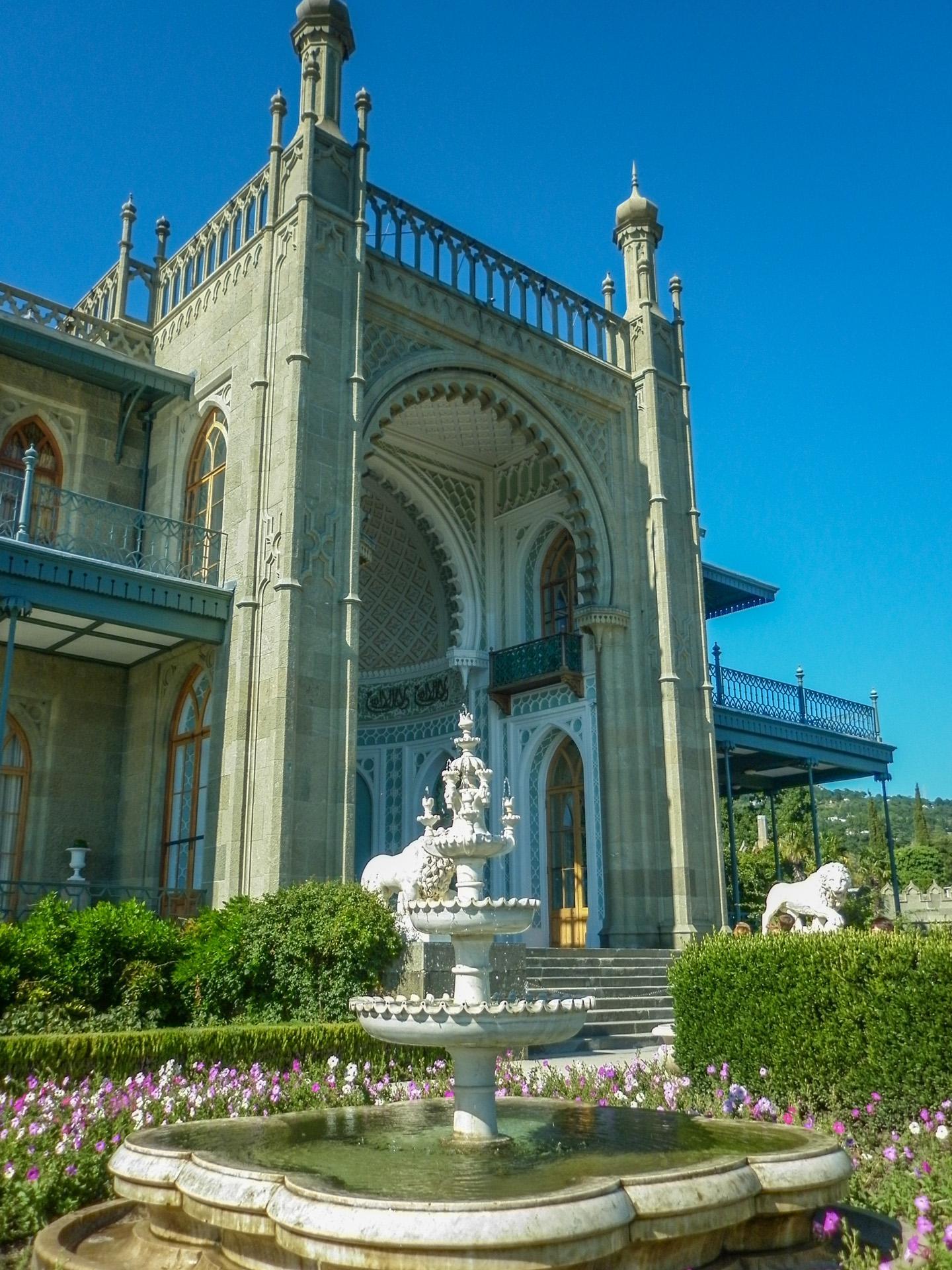 Воронцовский дворец внутренний дворик