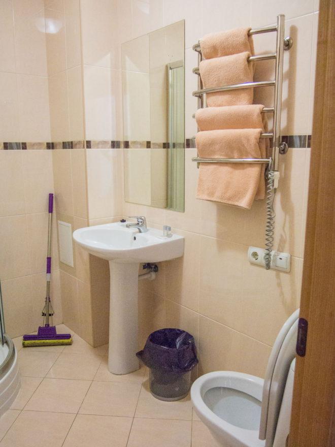 Цитадель в Алуште ванная