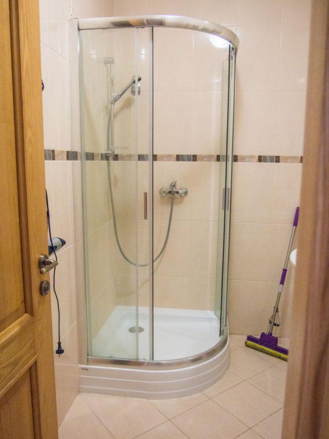 ванная в номере в Цитадели