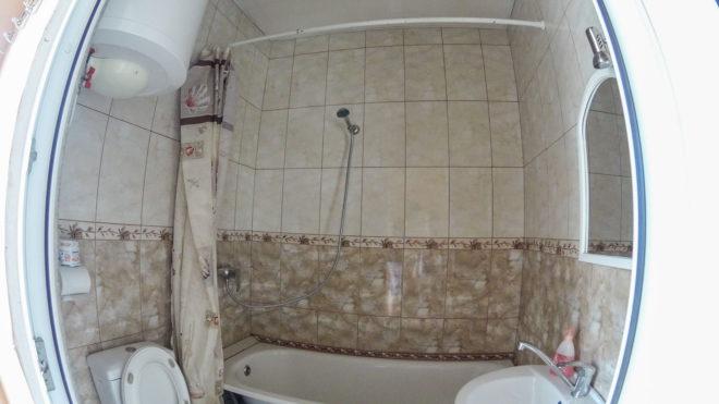 ванная в гостевом доме Багира