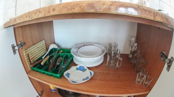 посуда в Багире