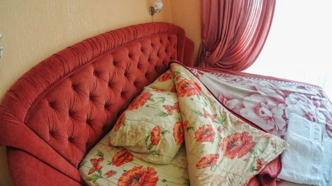 постельное белье в гостевом доме Багира