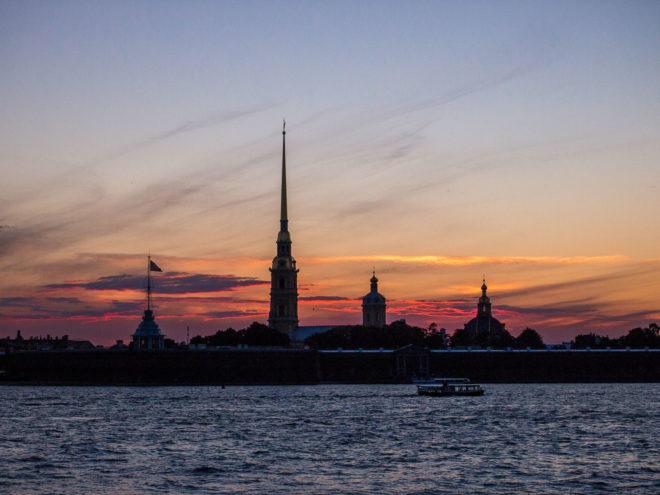 Санкт-Петербург в июне