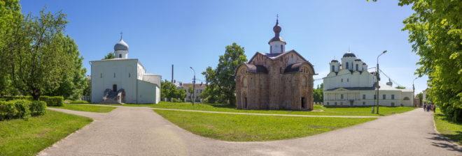 ярославово дворище соборы и церкви