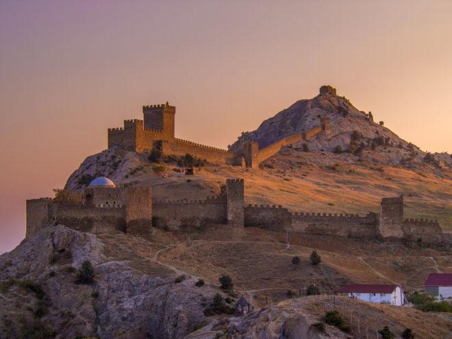 Судакская крепость Солдайя