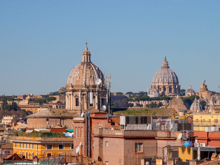 римские виды с крыши