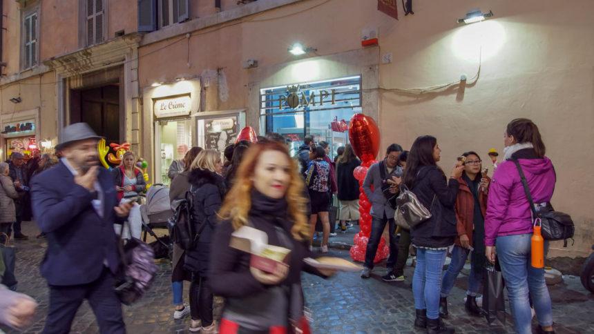Pompi в Риме