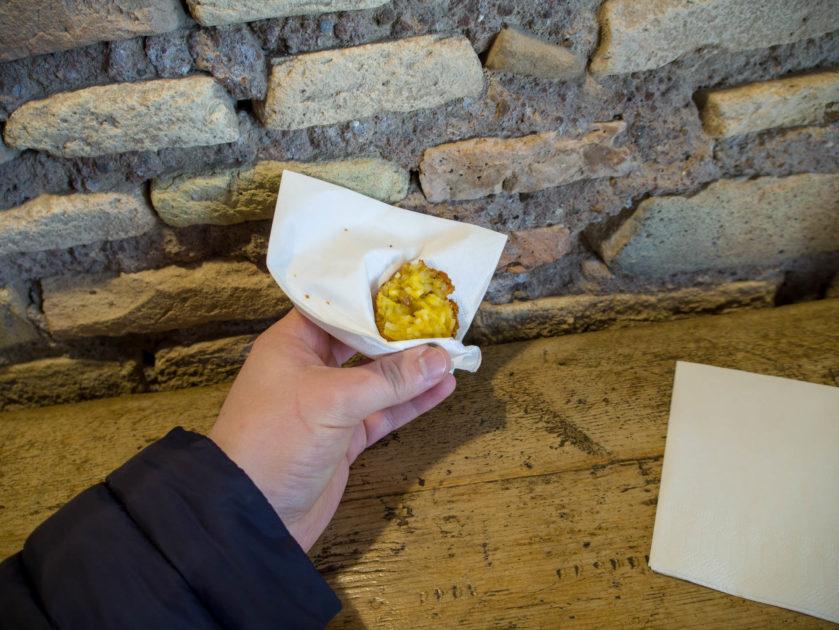 Супли уличная еда Рим
