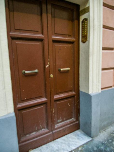 Отель Eleven Rome Inn с улицы