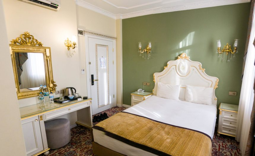 номер в отеле The Galataport Hotel в Стамбуле