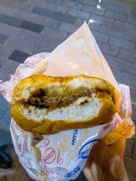 ислак гамбургер или мокрый бургер