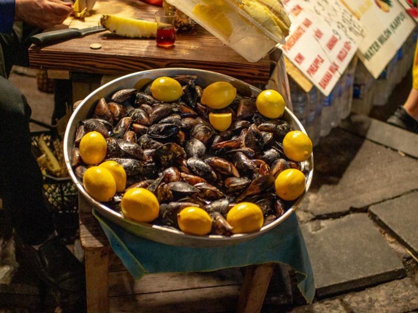 мидии в Стамбуле
