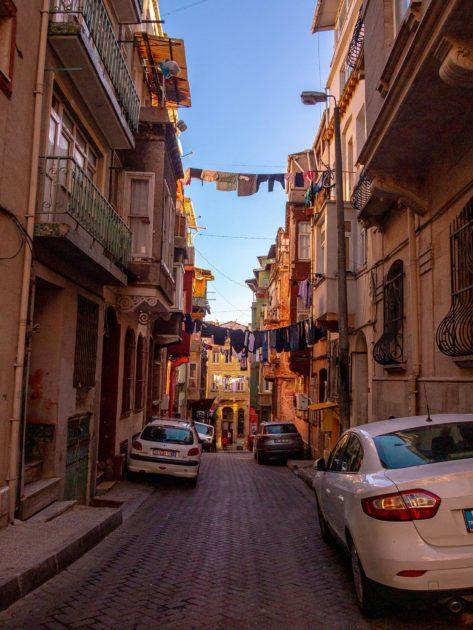 узкие улочки Стамбула