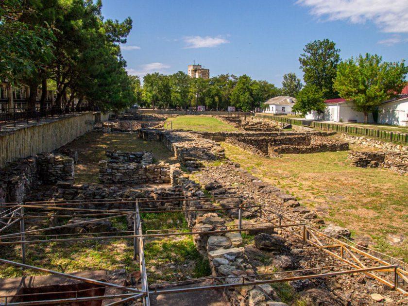Горгиппия - развалины города
