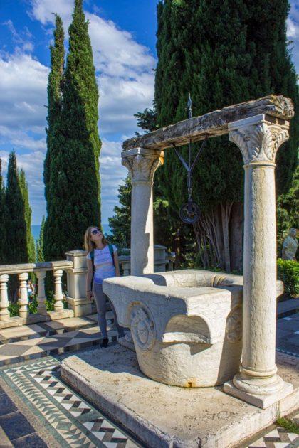 Венецианский колодец в парке Парадиз