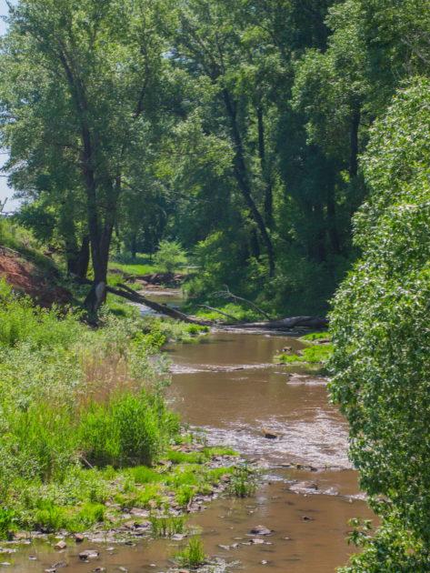 Река Средняя Каргалка