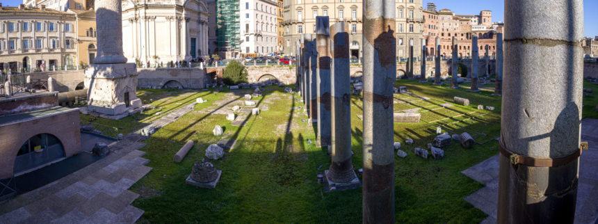 Колоннада на форуме Траяна