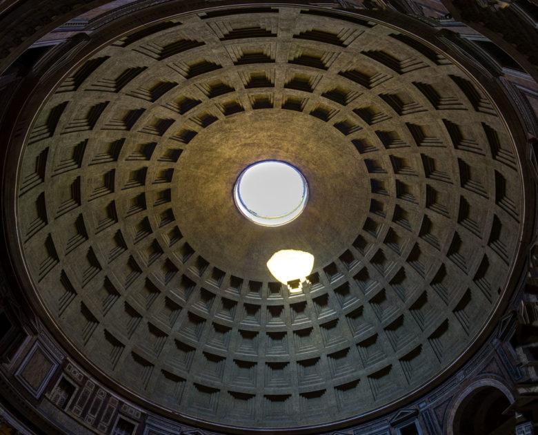 Купол Пантеона с окулюсом