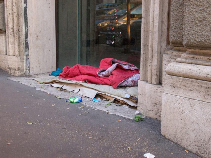 лежанка в Риме