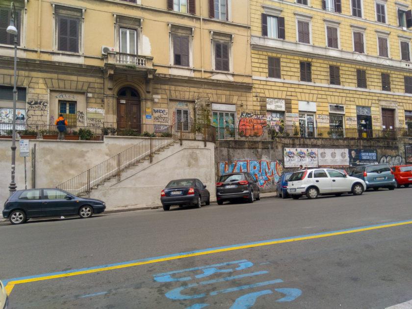 граффити в Италии