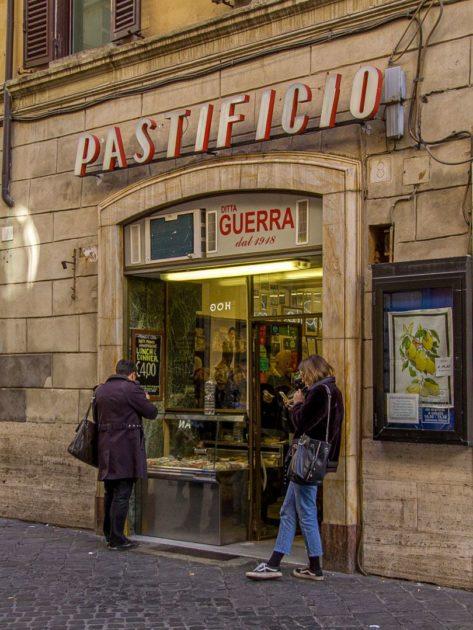 Pastificio Guerra в Риме