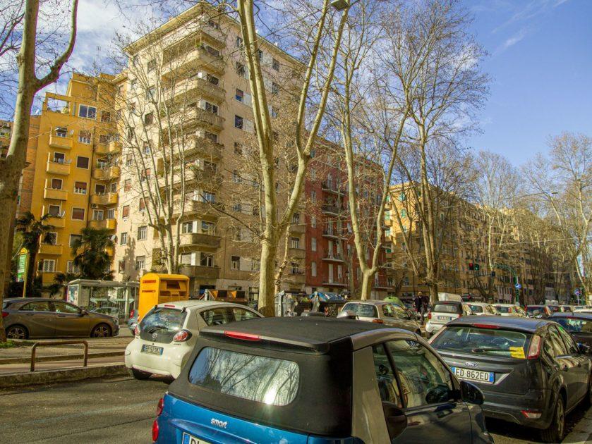 жилые районы Рима