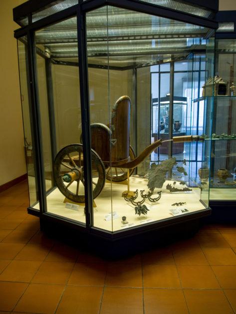 воссозданная этрусская колесница